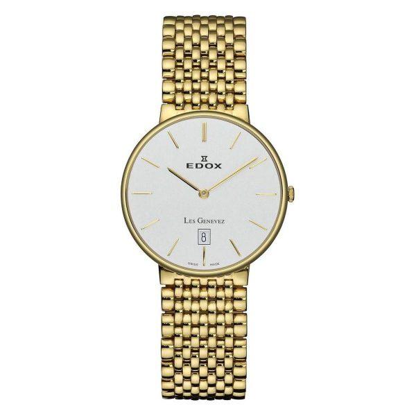 Edox Horloge Les genevez ultra slim 27034