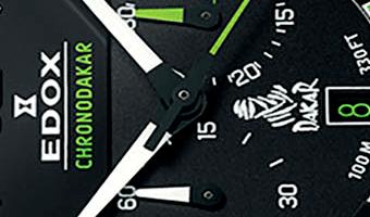 Detail Edox horloge Dakar